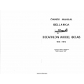Bellanca Decathlon 8KCAB Owners Manual 1972 -1974