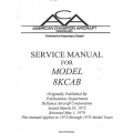 Bellanca Decathlon 8KCAB Service Manual 1972 - 1979 $13.95