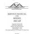 Bellanca Decathlon 8KCAB Service Manual 1972 - 1979