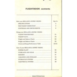 Bellanca Super Viking Series Aircraft Flight Book 1973 $13.95