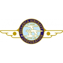 Bellanca Cruisair and Cruisemaster Aircraft Yokes Emblem Decals!