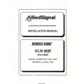 Bendix King KLN 90B GPS RNAV Installation Manual 006-10521-0004 $29.95