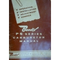Bendix PS Series Operation, Installation, Adjustment & Service Carburetors Manual $9.95