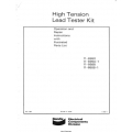 Bendix High Tension Lead Tester Instruction Manual 1969 $3.95