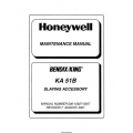 Bendix King KA 51B Slaving Accessory Maintenance Manual 006-15627-0007 $29.95
