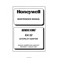 Bendix King KA 52 Autopilot Adapter Maintenance Manual 006-15628-0007 $13.95