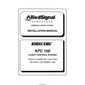 Bendix King KFC 150 Flight Control System Installation Manual 006-10552-0003 $29.95