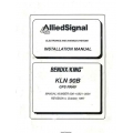 Bendix King KLN 90B GPS RNAV Installation Manual 006-10521-0004 $29.95
