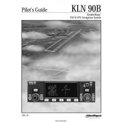 Bendix King KLN 90B TSO'd GPS Navigation System Pilot's Guide 006-08773-0000 $6.95