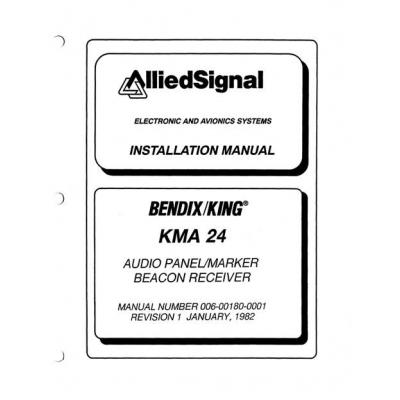 bendix king kma 24 audio panel marker beacon receiver installation rh aero stuff com Bendix King KX99 Bendix King Avionics