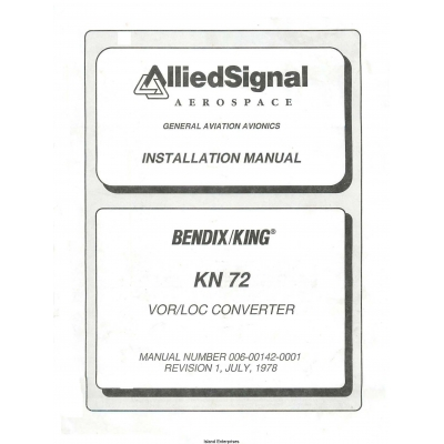 Bendix In 831a Installation manual
