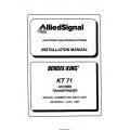 Bendix King KT 71 ATCRBS Transponder Installation Manual 006-00615-0001 $19.95