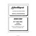 Bendix King KT 76A 78A ATCRBS Transponder Installation Manual 006-00143-0006 $19.95