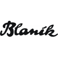 "Blanik Decals/Stickers! 14"" wide by 4"" high!"