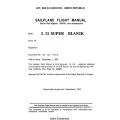 Blanik L-23 Super - Blanik Sailplane Flight Manual/POH 1993