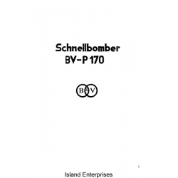 Blohm & Voss BV-P170 Schnellbomber