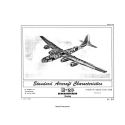 Boeing B-29 Superfortress Standard Aircraft Characteristics 1952