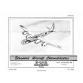 Boeing B-29A Superfortress Standard Aircraft Characteristics 1950 $2.95