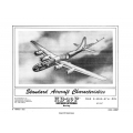 Boeing KB-29P Superfortress Standard Aircraft Characteristics 1951 $2.95