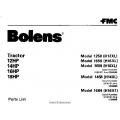 Bolens 1258 (H12XL) Tractor 12HP, 14HP, 16HP & 18HP Parts List