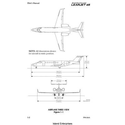 bombardier learjet 45 pilot s manual 5 95 rh aero stuff com Learjet 45 Crash Learjet 60 Interior