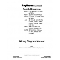 Beech Bonanza F33A F33C V35B A36 A36TC B36TC Wiring Diagram Manual $19.95