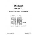 Beechcraft Bonanza 35 A-B-C-D-E-F-G35 Parts Catalog 35-590028B4 $19.95