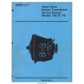 Borg Warner Velvet Drive 70C & 71C Series Marine Transmission Service Manual $4.95