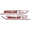 Boston Whaler Squall Boat Logo,Decals!