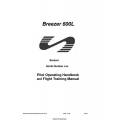Breezer 600L Pilot Operating Handbook and Flight Training Manual 2009 $4.95