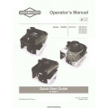 Briggs & Stratton Model 120000, Quantum 600 Series Operator's Manual $4.95