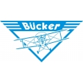 "Bucker Aircraft Decal?Vinyl Sticker 11"" wide by 5.5"" high!"