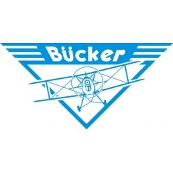 """Bucker Aircraft Decal?Vinyl Sticker 11"""" wide by 5.5"""" high!"""