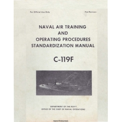 Fairchild C-119F Naval Air Training & Operating Procedures Standardization Manual $5.95