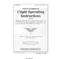Beechcraft C-43 through C-43H Staggerwing airplanes Pilot's Handbook of Flight Operating Instructions $5.95