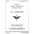 Douglas C-47 Pilot's Flight Operating Instructions T.O. 01-40NC-1 1942-1943