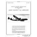 Lockheed C-69 Army Airplane Pilot's Flight Operating Instructions 1945 $12.95