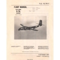 de Havilland Canada C-7A Caribou USAF Series Flight Manual $19.95