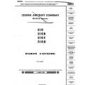 Cessna 310, 310B, 310C, 310D, Parts Catalog $29.95