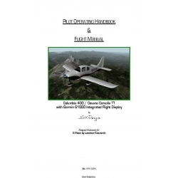 Columbia 400/ Cessna Corvalis TT with Garmin G1000 Integrated Flight Display Pilot Operating Handbook & Flight Manual (Rev 101113-01)