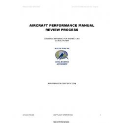 CA AOC-FO-009 Aircraft Performance Manual Review Process 2007
