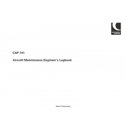 CAP 741 - Aircraft Maintenance Engineer's Logbook 2004 - 2008 $4.95