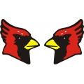 Cessna Cardinal Aircraft Decal,Logo 6''h x 4.75''w!