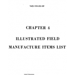 Chapter 4 Field Manufacture Items Part 2 $9.95
