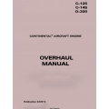 CONTINENTAL - OVERHAUL MANUAL C-125, C-145, O-300 X30013 $ 19.95