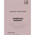 CONTINENTAL - OVERHAUL MANUAL C-125, C-145, O-300 X30013