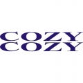 Cozy Aircraft Decal/Sticker 1 1/2''high x 13''wide!