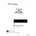 Narco Avionics CP 135 TSO and CP 136 TSO Audio Panels Installation Manual 03740-0600  $9.95