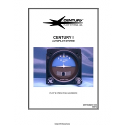 Century I Autopilot System 68S72 Pilot's Operating Handbook 1999 $4.95