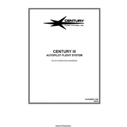 Century III 68S25 Autopilot Flight System Pilot's Operating Handbook 1998 $9.95